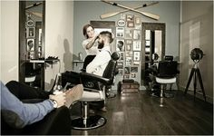 Barber and salon