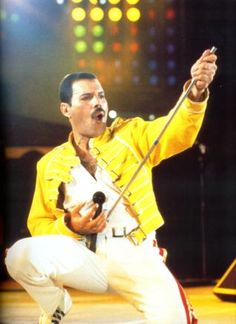 """Queen - Freddie Mercury was just incredible. And I'm biased because """"Somebody to Love"""" got me through a crazy-tough audition."""