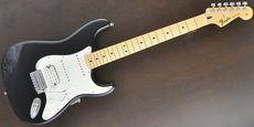 FENDER / Standard Stratocaster HSS Upgrade Black Guitar Free Shipping! δ
