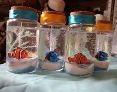 Lembrança aquário Nemo e Dori