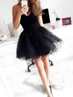 Prom Dresses Ball Gown, Lovely Homecoming Dresses Tulle Short Prom Dresses Short Graduation Dresses Black Graduation Dress 2017 Cheap, from the ever-popular high-low prom dresses, to fun and flirty short prom dresses and elegant long prom gowns. Short Graduation Dresses, Dresses Short, Black Prom Dresses, Tulle Prom Dress, Ball Dresses, Cheap Dresses, Pretty Dresses, Beautiful Dresses, Evening Dresses