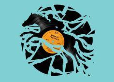 """Disc Jockey"" - Threadless.com - Best t-shirts in the world"