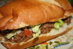 Deep South Dish: Yummy Hamburger Sandwich
