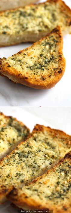 Easy Homemade Garlic Bread #garlicbread #bread