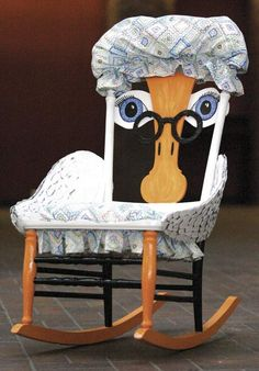 Mother Goose rocking chair.