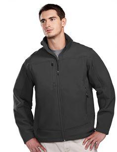 4600-2XL Tri-Mountain Men/'s Long Sleeve Zipper Chest Pocket Hooded Work Jacket
