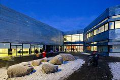 New City School, Frederikshavn,Courtesy of Arkitema