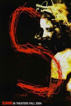 Saw 2004 Poster Scary Movies, Hd Movies, Movie Film, Movies Online, Saw Series, Jigsaw Saw, See Games, Keys Art, Horror Films