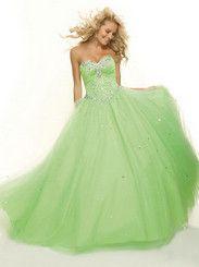 Vestido de novia sin mangas de tul vestido palabra de longitud rebordear bolas Splendid € 169,00 http://www.dreamflyingmx.com/
