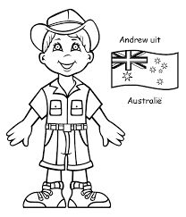Boy and australia flag coloring pages Flag Coloring Pages, Coloring Sheets For Kids, Coloring Pages For Kids, Coloring Books, Twin Towers Memorial, Around The World Crafts For Kids, Countries And Flags, Summer Camp Activities, World Thinking Day