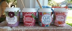 You are going to love the line-up for today! I am in love with these little coffee cups! It has nothing to do with my love for coffee (well, maybe it does!) -- these are amazing little treats for. Mini Coffee Cups, Little's Coffee, Coffee Gifts, Coffee Break, Coffee Club, Coffee Jitters, Coffee Cup Crafts, Coffee Holder, Cup Holders