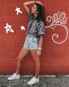 What To Wear Tomorrow, Brooklyn And Bailey, Mary And Martha, Back To School Backpacks, Casual Outfits, Cute Outfits, Best Youtubers, Swimwear Fashion, School Outfits