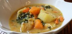 Ital Soup - A Rastafarian soup recipe that is a super tasty and super healthy (meatless and salt free).  This is jam packed with good for you veggies... (ps- an equivalent to eddoe is taro root).