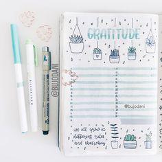 Likes, 11 Comments - bullet journal Bullet Journal Notebook, Bullet Journal Ideas Pages, Bullet Journal Inspiration, Journal Pages, Bullet Journals, Study Journal, Bullet Journal Weight Loss Tracker, Gratitude Journal Prompts, Gratitude Ideas
