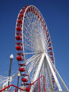 Ferris Wheel!  Rode one like this, ONCE.