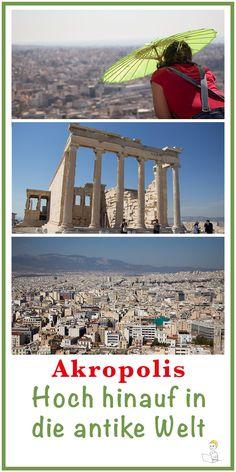 Ja, es ist schon ein sehr ehrwürdiges Gefühl, wenn man auf der Akropolis in Athen vor den imposanten Monumenten aus der Antike steht. Leider muss man sich dieses ehrwürdige Gefühl auch mit massenweisen anderen Touristen teilen. Und dennoch ist die Akropolis ein absolutes Highlight in Griechenland mit einer sagenumwobenen Atmosphäre & einem wunderschönen Ausblick auf Athen.