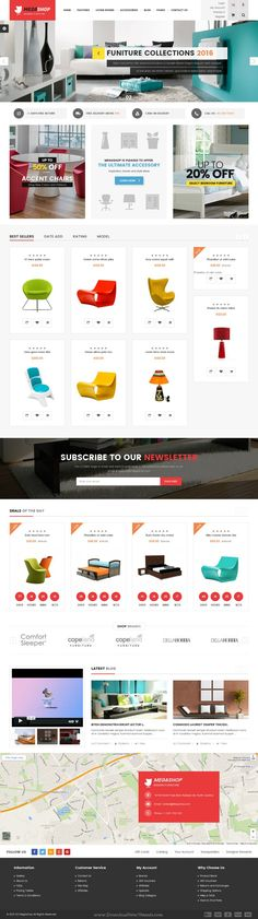 Megashop is beautifully design #Opencart theme for multipurpose #eCommerce #website. Download Now!
