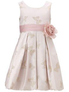 Butterfly flowergirl dress