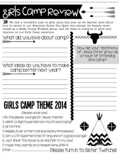 girls camp review