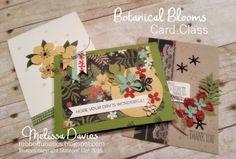Stampin' Up! Botanical Blooms by Melissa Davies @rubberfunatics #rubberfunatics #stampinup