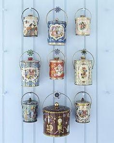 Reuse Tea caddies...