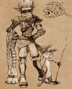 Jak and Daxter by PooLinG-WaTeRs on @DeviantArt