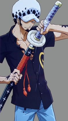 One piece - Trafalgar Law One Piece Manga, One Piece Ace, Trafalgar Law Wallpapers, Trafalgar D Water Law, Ace And Luffy, One Peace, Nico Robin, Animes Wallpapers, Anime Characters