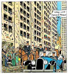 Chicago - Tintin in America
