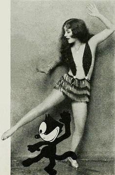 felix the cat with Ann Pennington dance the black bottom 1927