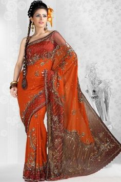 Persimmon Orange Georgette Wedding and Festival Embroidered Saree, http://www.junglee.com/dp/B006L0Z7CY/ref=cm_sw_cl_pt_dp_B006L0Z7CY/277-5896581-4175520