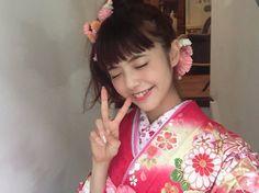 💕鈴木優華💕 ✨ a model under exclusive contract ✨ Yukata Kimono, Model, Personal Care, Makeup, Sexy, Pretty, Girls, Beauty, Beautiful