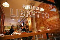 Pizzeria Libretto, Toronto.  Enroute magazine rates it the best Italian pizza in North America ... and I agree.
