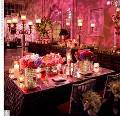 wedding reception, reception decor