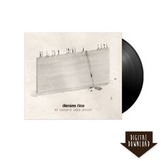 Damien Rice Official Store - My Favourite Faded Fantasy Vinyl LP + MP3 - Music