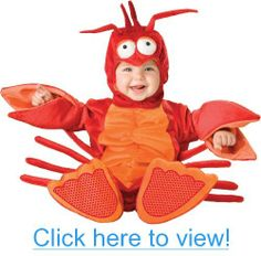 Lil Characters Unisex-baby Newborn Lobster Costume, Red/Orange, Small (6-12 Months) #Lil #Characters #Unisex_baby #Newborn #Lobster #Costume #Red_Orange #Small #6_12 #Months