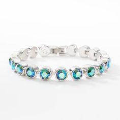b46734720 Lime Shimmer Ice Bracelet #oprah #bracelets #jewelry. Touchstone Crystal by  Swarovski
