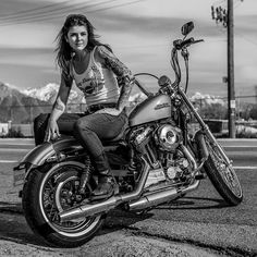 How To Dress Like A Biker Babe;The Biker Chick Fashion For The ...