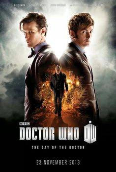 Official BBC poster. 50th Anniversary special will be called 'The Day of the Doctor' (and will be 75 minutes long)
