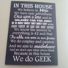 It's all Geek to me.