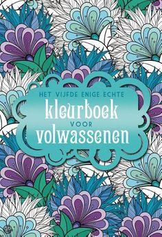 Het vijfde enige echte kleurboek voor volwassenen - €9,95