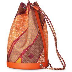 Hermès Soie-Cool bag ($2,050) ❤ liked on Polyvore featuring bags, handbags, shoulder bags, hermes, hermes purse, sport purse, hermès, hermes shoulder bag and shoulder strap bag