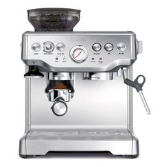 A fine espresso machine for beginers and profesionals.The Breville expres.