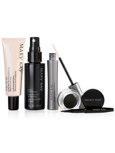 Party 'til Dawn and glam up for the holidays with Gel Eyeliner, Lash Love Waterproof Mascara, Foundation Primer Sunscreen and Makeup Finishing Spray! WHILE SUPPLIES LAST  http://www.marykay.com/sloan_shelby/en-US/New-Products/Party-til-Dawn/10080368.partId?eCatId=4294967131