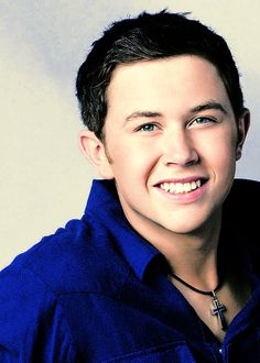 Scotty McCreery... I have only started listening to him recently, but I like what I've heard so far!