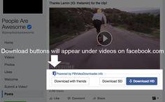 Awesome Facebook Video Downloader