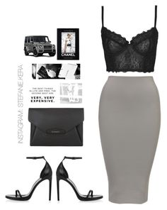 """Untitled #42"" by stefanie-kera ❤ liked on Polyvore featuring Topshop, Yves Saint Laurent, Givenchy, Chanel and Mercedes-Benz"
