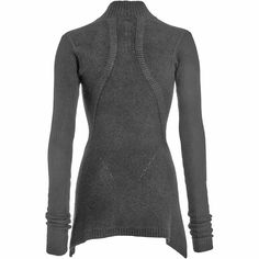 Rick Owens Mock Neck Sweater   knittsings