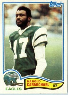 1982 Topps # 440 Harold Carmichael Philadelphia Eagles Football Card - In Protective Screwdown Display Case! by Topps. $2.88. 1982 Topps # 440 Harold Carmichael Philadelphia EaglesFootball Card - In Protective Screwdown Display Case!