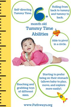 Baby may now start to prefer being on their tummy instead of their back! Use these checkpoints to see what baby's Tummy Time abilities should look like at 6+ months. See the rest of baby's Tummy Time abilities from birth-6 months by clicking on this link! #TummyTime #babygoals #babyabilities #pediatrics #physicaltherapy #babycare #healthybaby #babywellness #babyhealth #babymuscles #motorskills #motordevelopment #pediatrictherapists Baby Tummy Time, 6 Month Old Baby, Shoulder Muscles, Get Baby, 6 Month Olds, Core Muscles, Baby Health, Songs To Sing, Physical Therapy