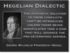 Georg Wilhelm Friedrich Hegel (1770-1831) was a highly influential German philosopher. To this day his Hegelian Dialectic is a model used by central powers of government to create a problem that causes a reaction most often in the form of a...